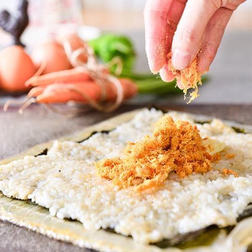 海卷金三顺饭团-肉松寿司