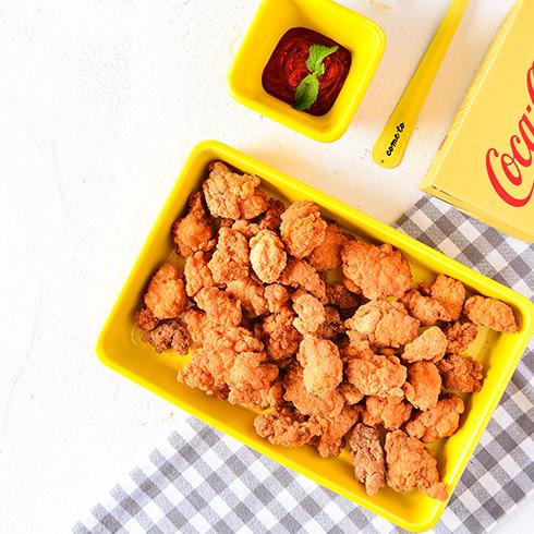 海卷金三顺饭团-脆炸鸡米花