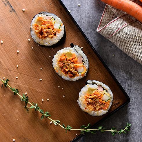 海卷金三顺饭团-奥尔良鸡肉寿司