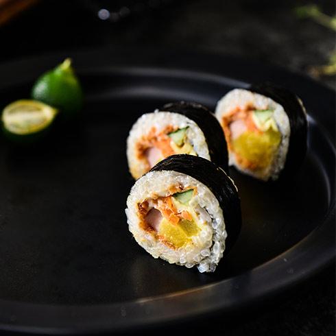 海卷金三顺饭团-热狗寿司