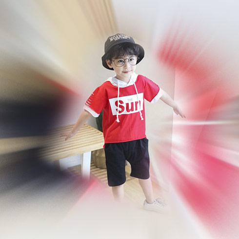 童话旋律童装-短袖卫衣男童装