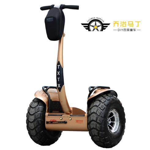 乔治马丁电动车-智能大轮平衡车