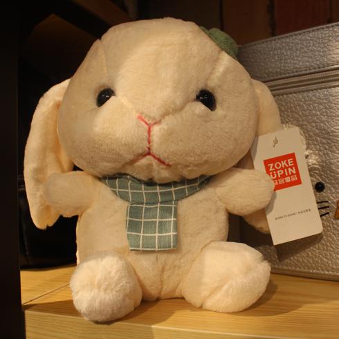 众客优品快时尚百货-小兔子毛绒公仔