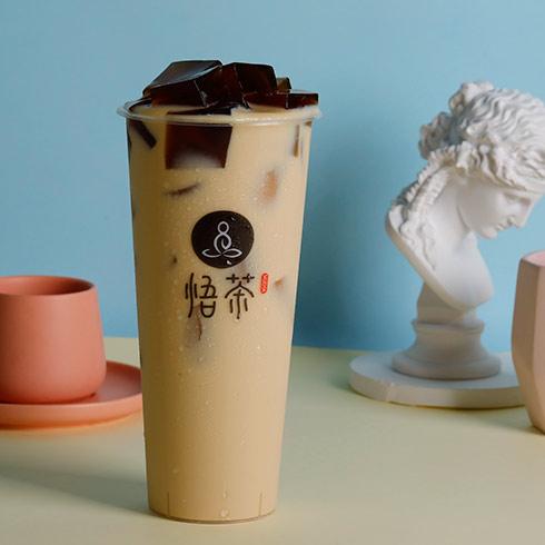 悟茶茶饮-经典奶茶