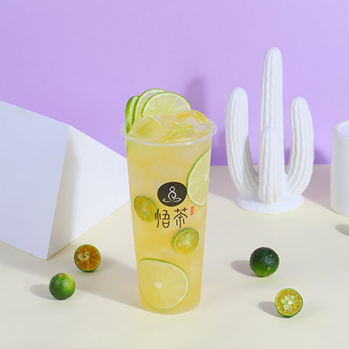 悟茶茶饮-金桔柠檬茶
