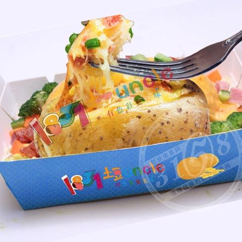 1831土豆Uncle小吃-芝士焗土豆