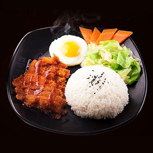 鸭迷鸭蜜泰式烤鸭饭-鸡排饭