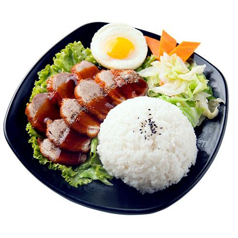 鸭迷鸭蜜泰式烤鸭饭-黑椒烤鸭饭