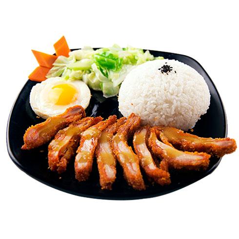 鸭迷鸭蜜泰式烤鸭饭-秘制鸡排饭