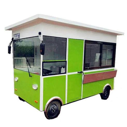 聚八方小吃车-时尚巴士小吃车