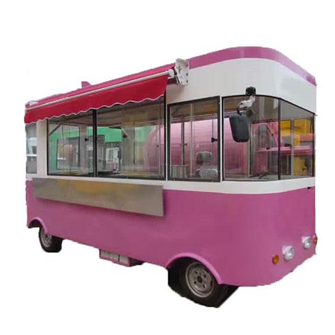 聚八方小吃车-浪漫式小吃车