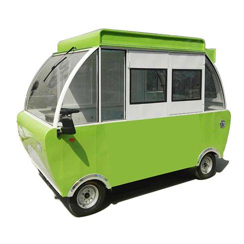 聚八方小吃车-烤猪蹄小吃车