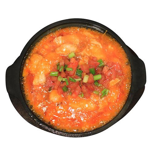 喵里喵气啵啵鱼-鲜红番茄啵啵鱼
