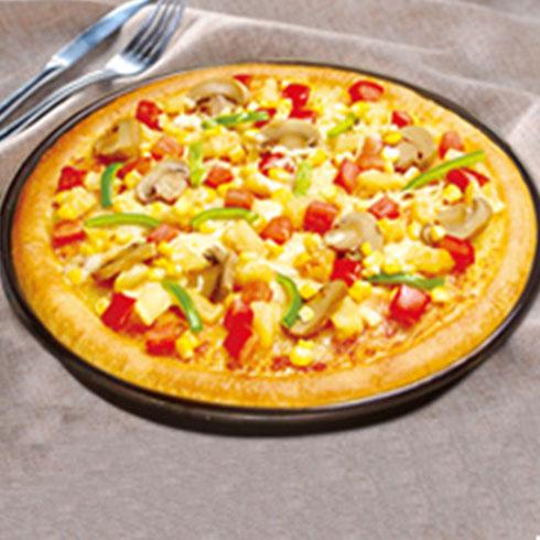 仕客德汉堡-蘑菇披萨