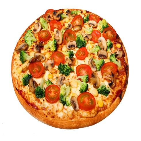 卡方汉堡西式快餐-蔬菜披萨