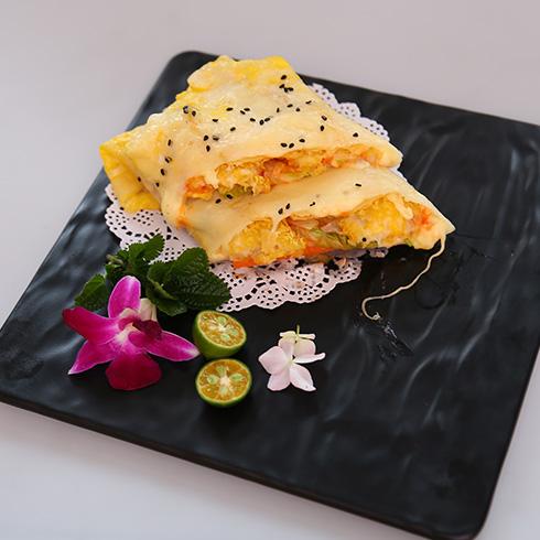 煎螯小龙虾煎饼-奶酥芝士煎饼