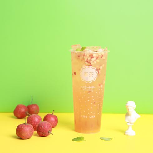 奉茶饮品-山楂果冰茶