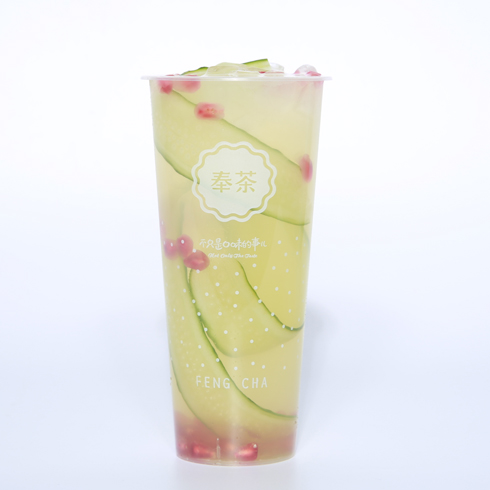 奉茶饮品-浪漫风花