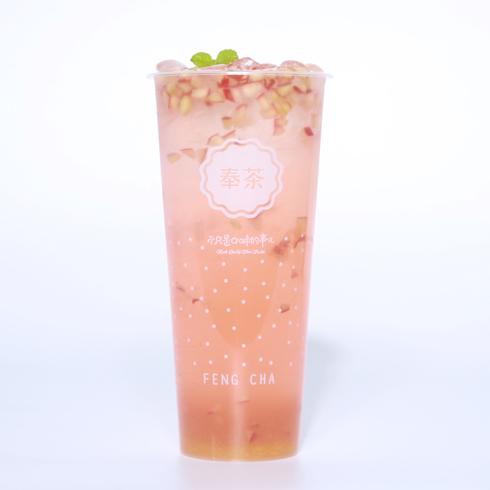 奉茶饮品-粉系果粒多