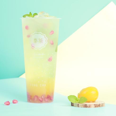 奉茶饮品-石榴茉莉茶