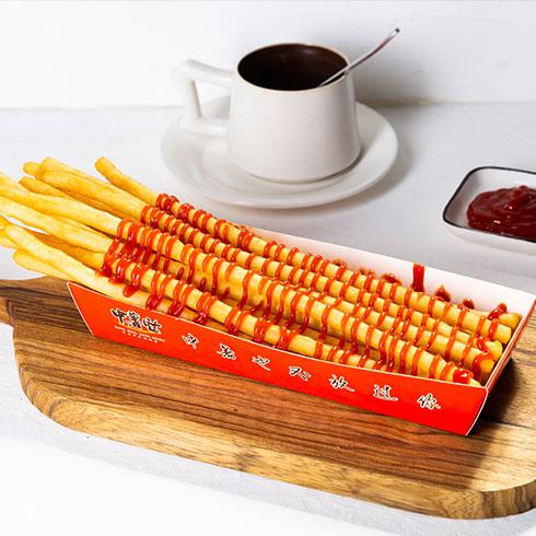 中薯哒创意薯条-红酱番茄味薯条