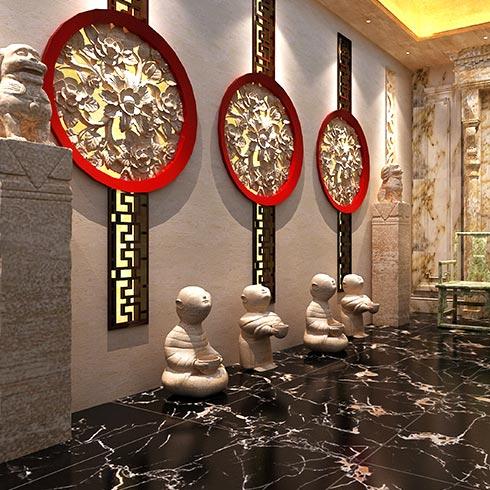 未来空间全屋整装-浮雕壁画