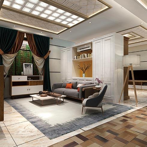 未来空间全屋整装-优雅风集成吊顶