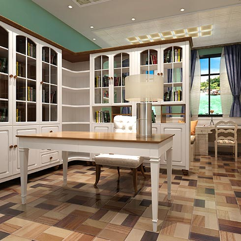 未来空间全屋整装-现代简约风书房