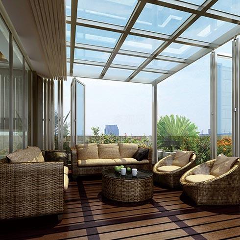 未来空间全屋整装-阳光房式客厅