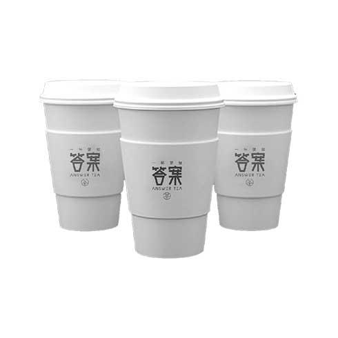 答案茶-奶盖茶