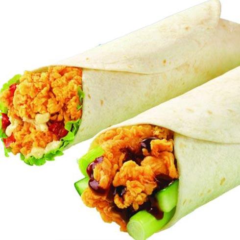 叮当鸡排-墨西哥鸡肉卷