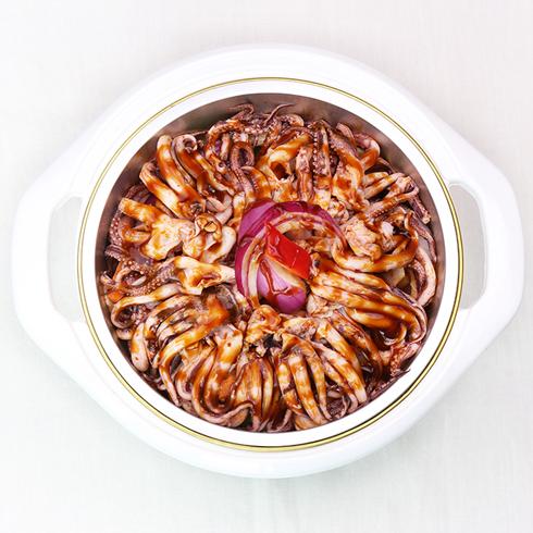 黄上煌三汁小焖锅-焖鱿鱼