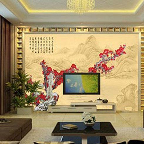 品邦3D壁画机-电视背景墙