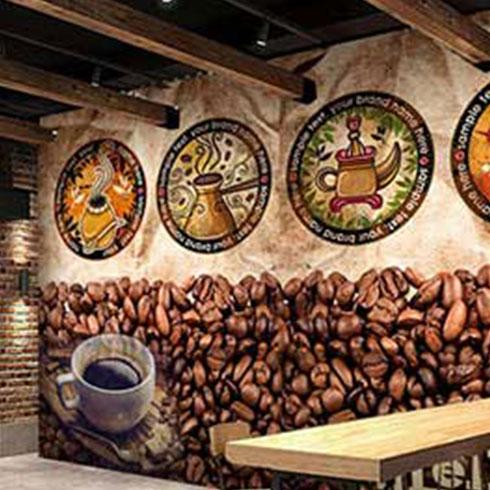 品邦3D壁画机-咖啡店3D壁画
