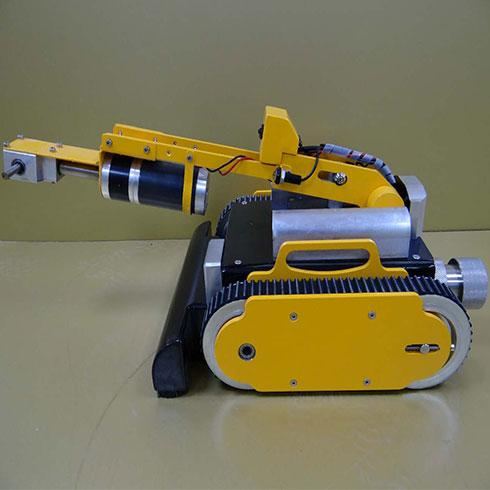 洁美万家家电清洗-地暖管道清洗机器人