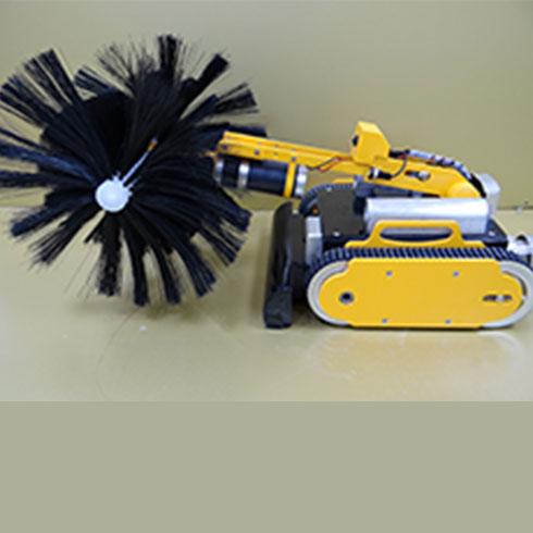 洁美万家家电清洗-空调清洗专用机器人