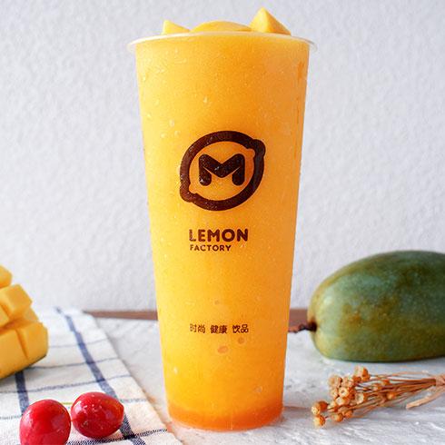 柠檬工坊港式奶茶饮品-芒果鲜榨
