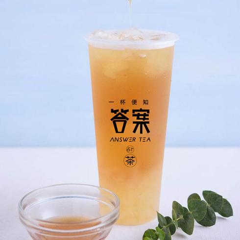答案占卜茶-蜜桃乌龙茶