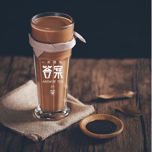 答案占卜茶-黑糖姜汁奶茶