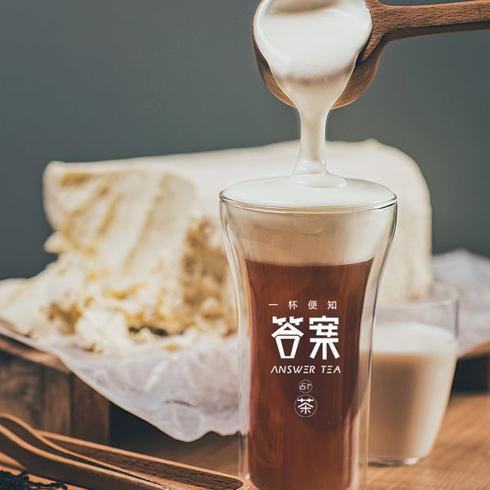 答案占卜茶-黑糖奶茶