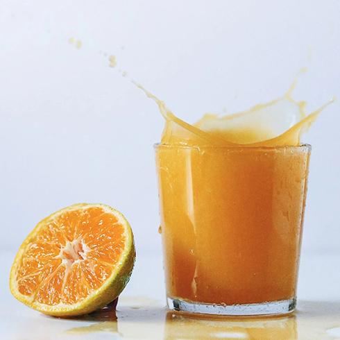 布雷格烘焙-一杯橙汁
