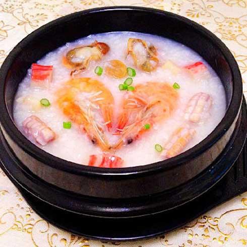满朝佰家养生粥铺-海鲜砂锅粥