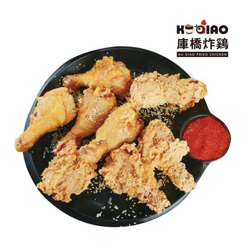 库桥炸鸡休闲小吃-炸鸡腿套餐