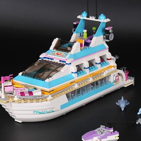 乐高汇科技积木工厂-海豚号豪华游艇
