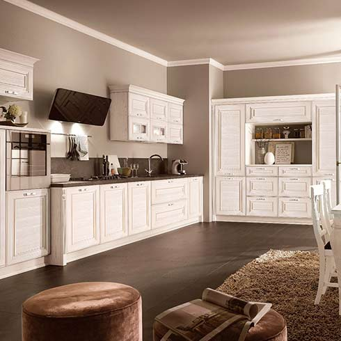 欧宅全铝家居-现代简约式厨房