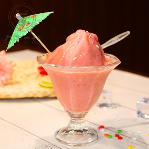 九牛一杯牛排杯-草莓冰沙