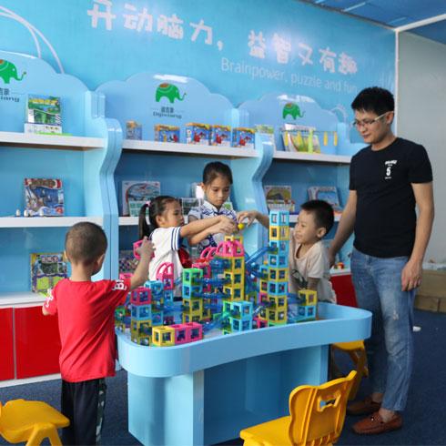 迪吉象益智玩具体验馆-搭积木