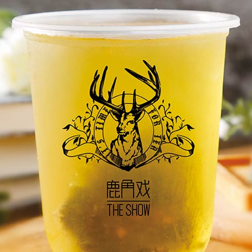 鹿角戏奶茶-白桃乌龙茶