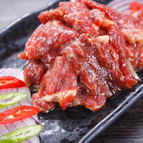牛九段烤肥牛-新鲜牛肉