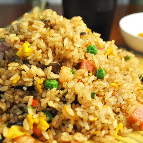 汉卤帝炒饭-海鲜蛋炒饭